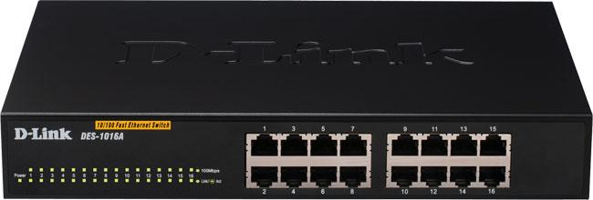 Bộ chuyển mạch kết nối mạng LAN D-link 16port